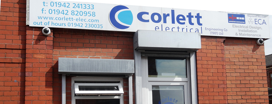 Corlette Electrical front door